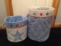 Next Fabric Storage Bins - Baby's Bedroom