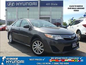 2013 Toyota Camry LE|AUTO|BACK-UP CAM| A/C|POWER HEATED MIRRORS|
