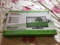 "Toshiba 24"" TV / DVD combo"