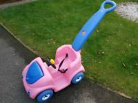 Baby / child's push along ride on toy car