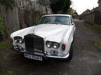 Rolls Royce silver shadow classic car 1975 tax exempt