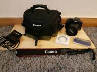 Canon 450d 12mp camera with canon bag+extras