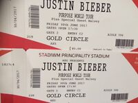 Justin Bieber Tickets Golden Circle