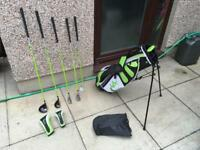 Woodworm Zoom Boys Junior Kids Golf Clubs Set. Age 12-14. Immaculate Condition. Children's Set