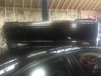 honda accord type r h22a7 ch1 pre facelift rear bumper black with lip
