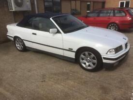 NEED GONE!!! BMW 3 series e36 325i m50 m52 convertible alpine white classic
