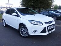 2013 FORD FOCUS 1.0 ECO BOOST ZETEC 5DR,21000 MILES,£20 TAX,NEW MOT,START/STOP,FORD S HISTORY.