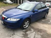 Mazda 6 2.0 TSd. 2003 Long MOT. Drives very well. Reliable family car.