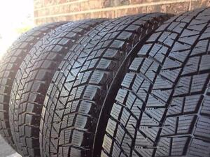 WINTER Set of 4 Tires &Rims ~~~ 215/70R16 Bridgestone Blizzak DM-V1 ~~~ 95%+tread ~~~ Rim Bolt 5x114.3mm & 5x115mm