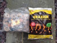 Eco Logs & Smokeless Coal for Home Fire - Bargain!