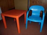 Child's Play Table & Chair