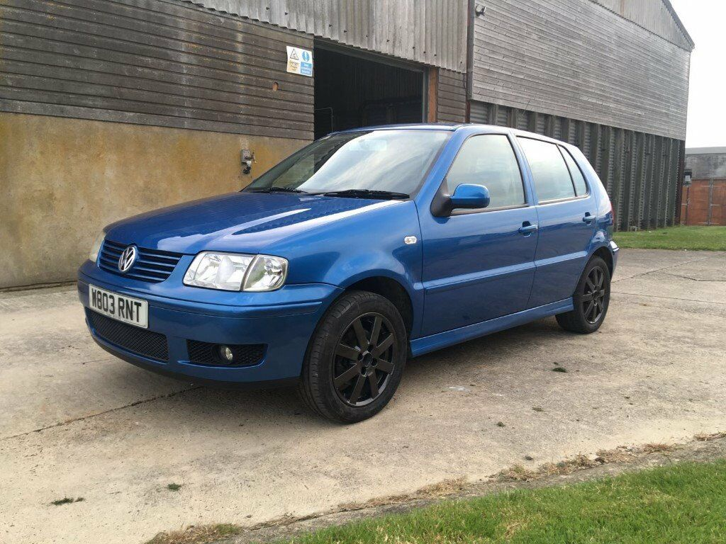 2000 w volkswagen polo 6n2 1 4 16v manual mercato metallic blue 5 door hatchback in ipswich. Black Bedroom Furniture Sets. Home Design Ideas
