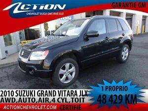 2010 Suzuki GRAND VITARA JLX,AWD,4 CYL,TOIT,AUTO,AIR