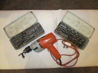 BLACK & DECKER Electric Drill & Drill Bits
