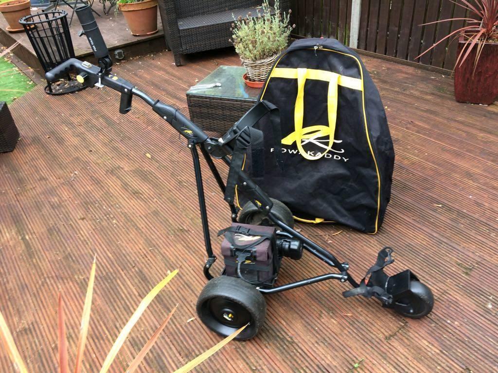 Power caddie electric golf trolley