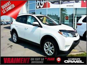 2014 Toyota RAV4 Limited 4WD GPS CUIR DEUX TONS