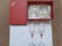 Schott Zweisel vintage wine glasses.