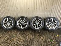 "Genuine 18"" BMW 5 Series M Sport G30 662 Staggered Alloy Wheels #4 - 5x112"