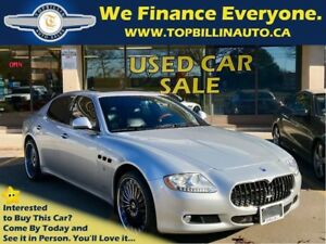 2009 Maserati Quattroporte 2 Sets of wheels & tires, 2 Years WAR