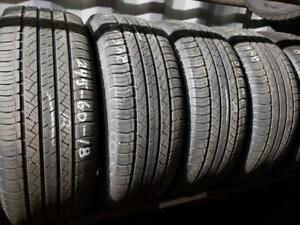 4 summer tires Michelin latitude tour hp 245/60r18 tt
