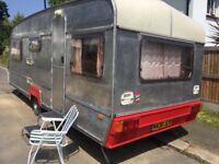 Vintage custom caravan aluminium 1996 jubilee viceroy