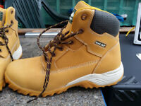 Rock Fall Flint Honey Hiker Styled Safety Boot,size 10 uk,44 New