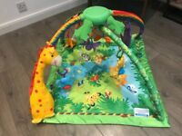 Fisher Price Rainforest Melodies Baby Play Mat Gym