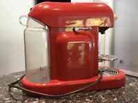 Krups Nespresso Coffee Machine (Red)