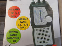 Radio Scanner for Planes and Boats