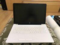 15.6 Inch White HP Laptop