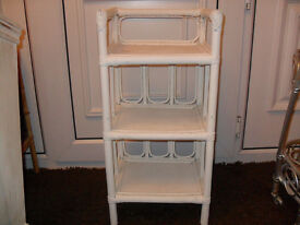 3 Tier Shelf Stand Unit (Wood, Wooden)