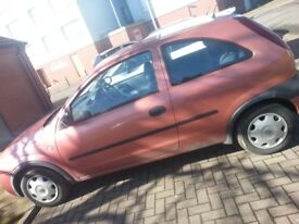 1 litre 3 door corsa full logbook 2 keys prescent