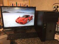 QUAD CORE Dell Precision T1650 ** 16GB workstation