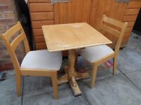 TABLE & TWO CHAIRS FOR SHABBY CHIC!