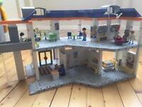 Playmobil hospital and ambulance £35