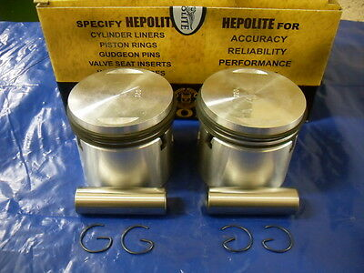 BSA A10  NEW HEPOLITE 7.25:1  STD, +20, +40 +60  PISTONS FOR 1950 TO 1962 MODELS