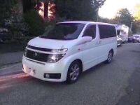 Nissan Elgrand campervan
