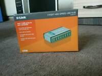 D-link 7-port high speed USB hub