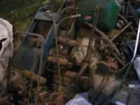 large collection of vintage lawnmowers for sale,