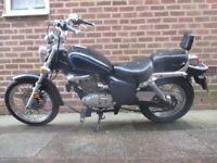 Suzuki marauder 125 cc with MOT cruiser bike gz