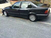 Left-Hand Drive BMW 3.16i Metalic Black