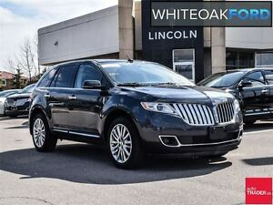 2013 Lincoln MKX one owner, with tech pkg,sight and sound plus