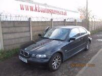 BMW 320TD ES Compact 2L Diesel 2004 breaking for spares Wheel Nut.