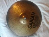 "Sabian Fusion Hi-Hat Cymbal 13 "" Hand-Hammered"