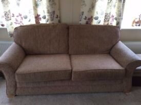 Sofa and matching armchairs