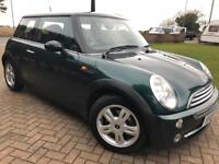 MINI COOPER 05 reg BRITISH RACING GREEN £1250