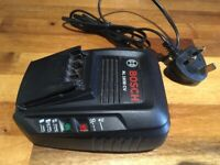 GENUINE Bosch Power for all (AL1830CV) Battery Charger for green DIY power tools or drills