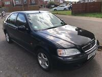 Honda Civic 1.4i sport, x reg 2000, black, manual, 4 doors, 2x owners, 75k s/h, long mot & tax