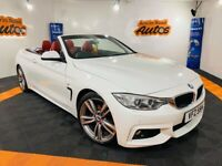2015 BMW 420D M - SPORT AUTO ** CONVERTIBLE ** RED LEATHER ** FINANCE AVAILABLE