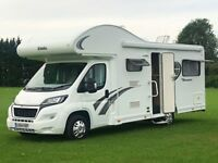Motorhome Hire, 6 Berth, New Model. Drive on UK Car Category B Licence